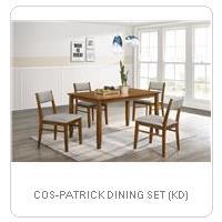 COS-PATRICK DINING SET (KD)